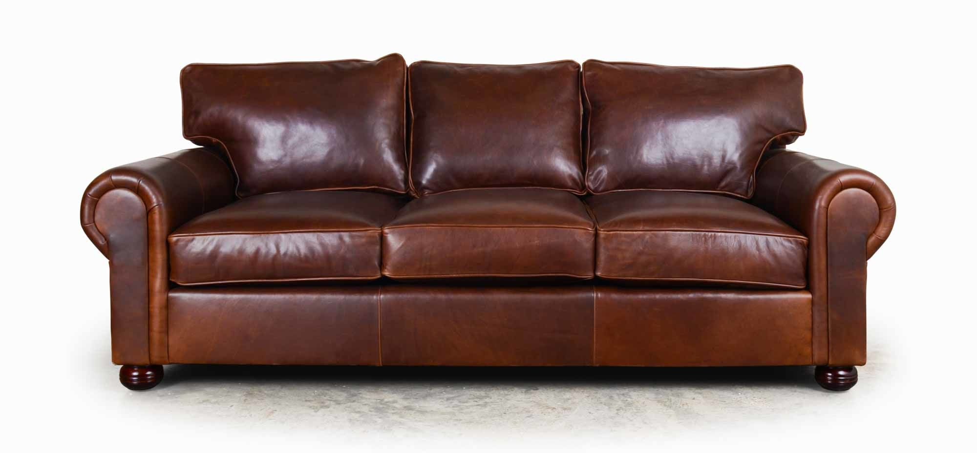 Contemporary Restoration Hardware Leather Sofa Construction Best Picture