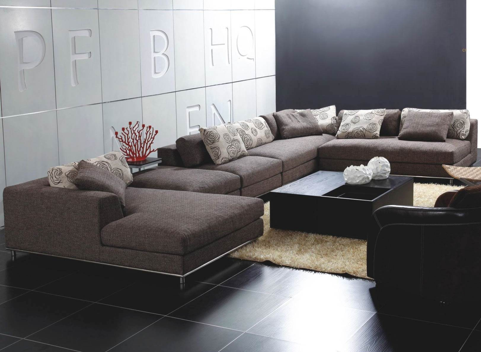 Contemporary Sectional sofa Best Ultra Modern Leather Sectional sofa Nain N Plan