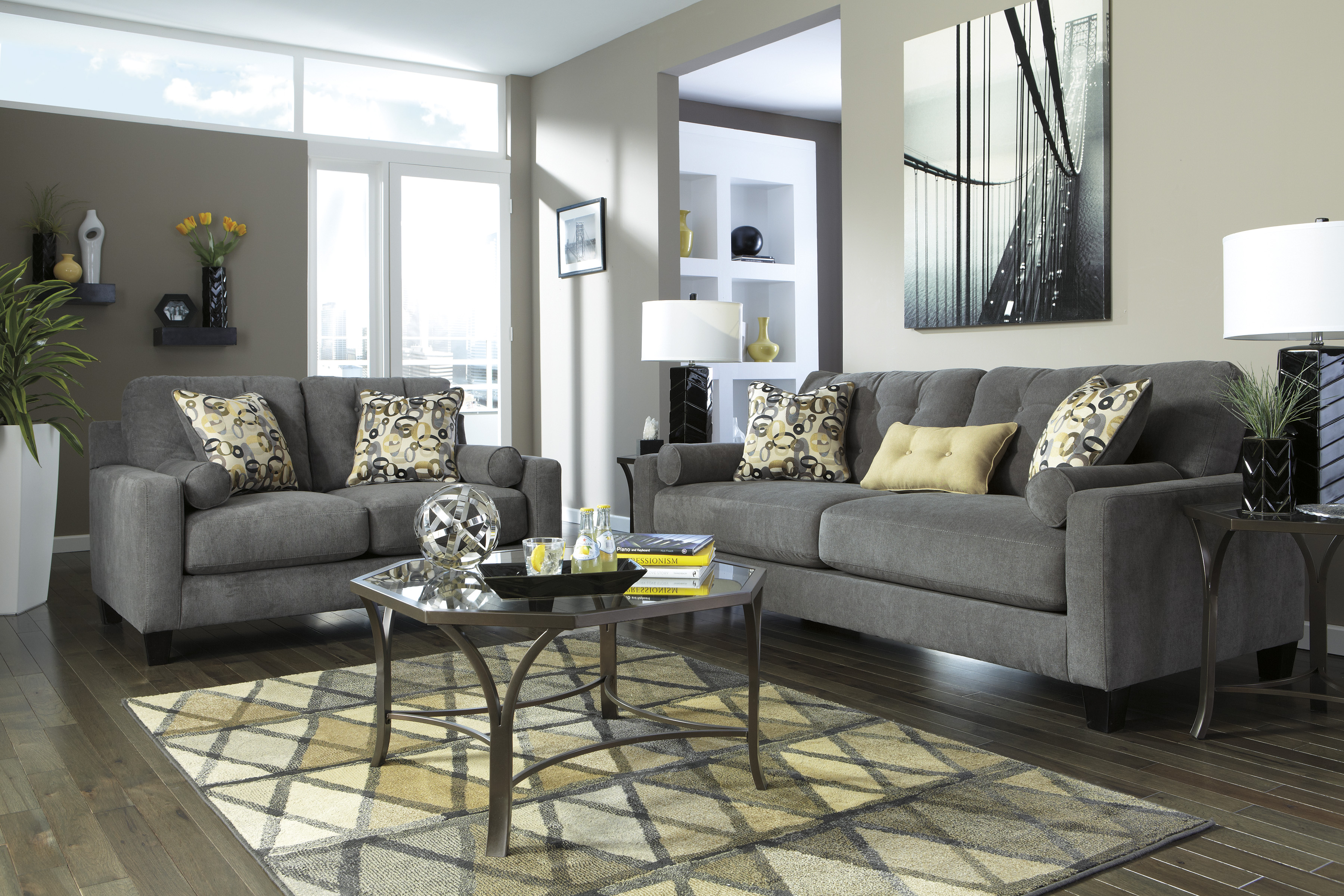contemporary simmons flannel charcoal sofa concept-Beautiful Simmons Flannel Charcoal sofa Concept