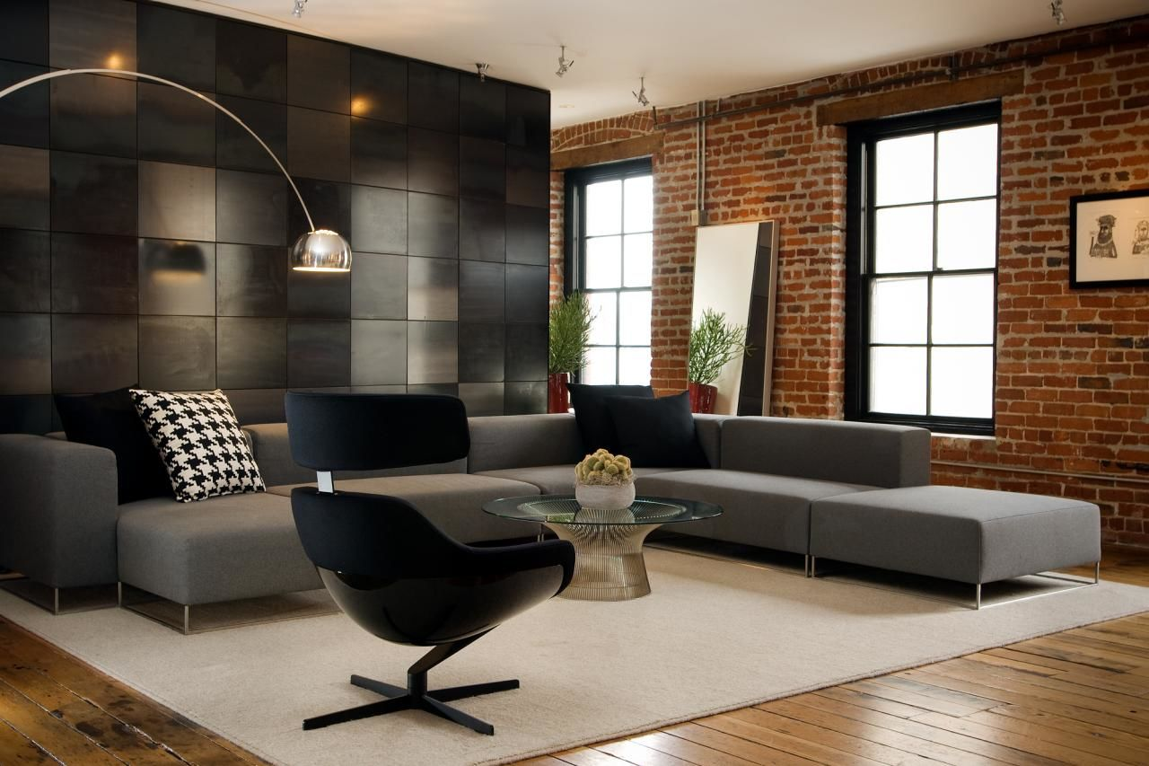 contemporary small space sectional sofa photo-Contemporary Small Space Sectional sofa Plan