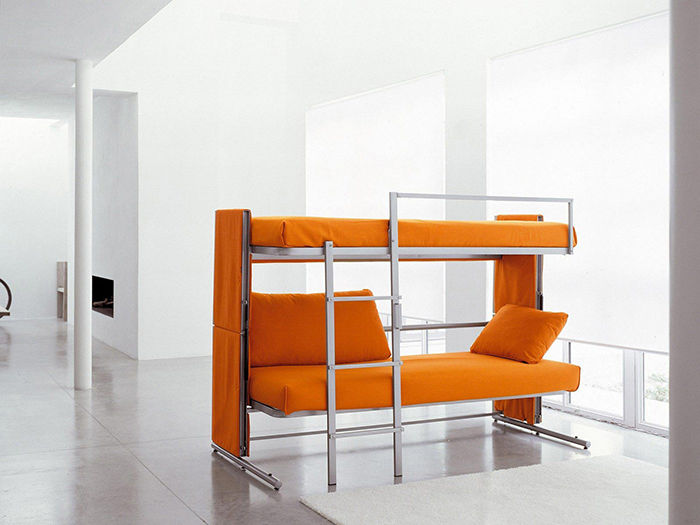 contemporary sofa bunk bed convertible photograph-Fancy sofa Bunk Bed Convertible Design