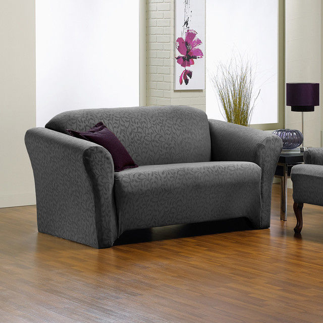 contemporary stretch sofa slipcover construction-Terrific Stretch sofa Slipcover Portrait