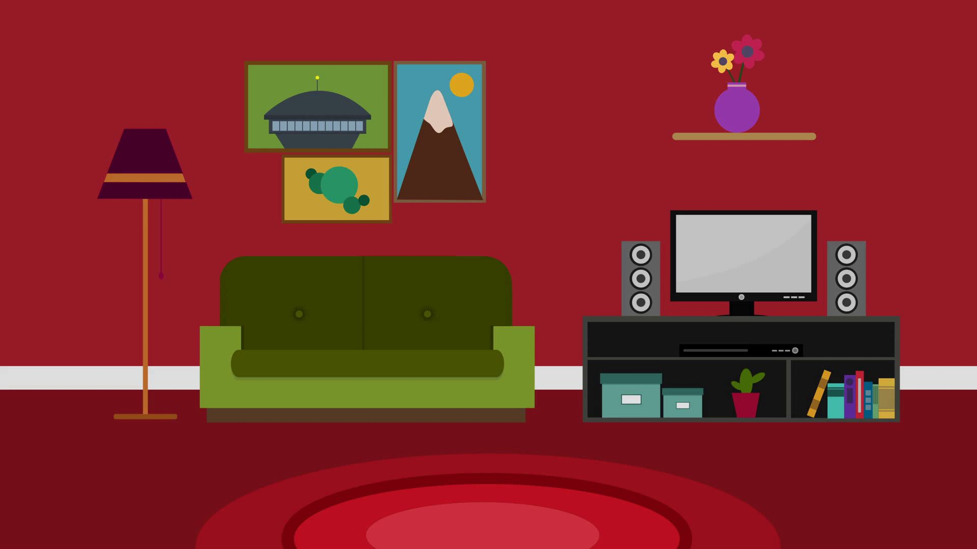 cool modern red sofa concept-Beautiful Modern Red sofa Photograph