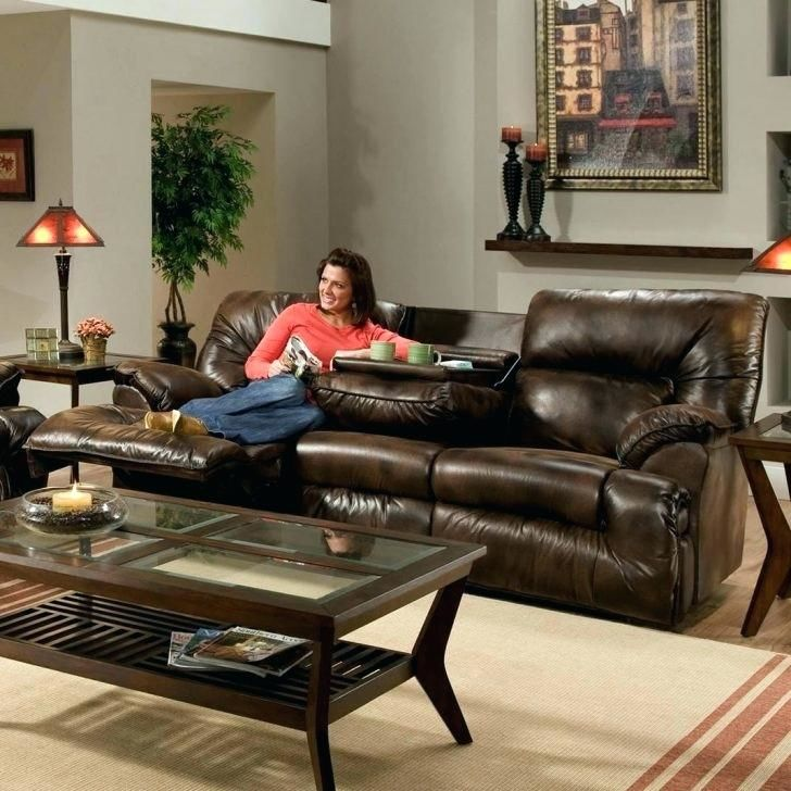 cool reclining sofa with drop down table décor-Lovely Reclining sofa with Drop Down Table Decoration