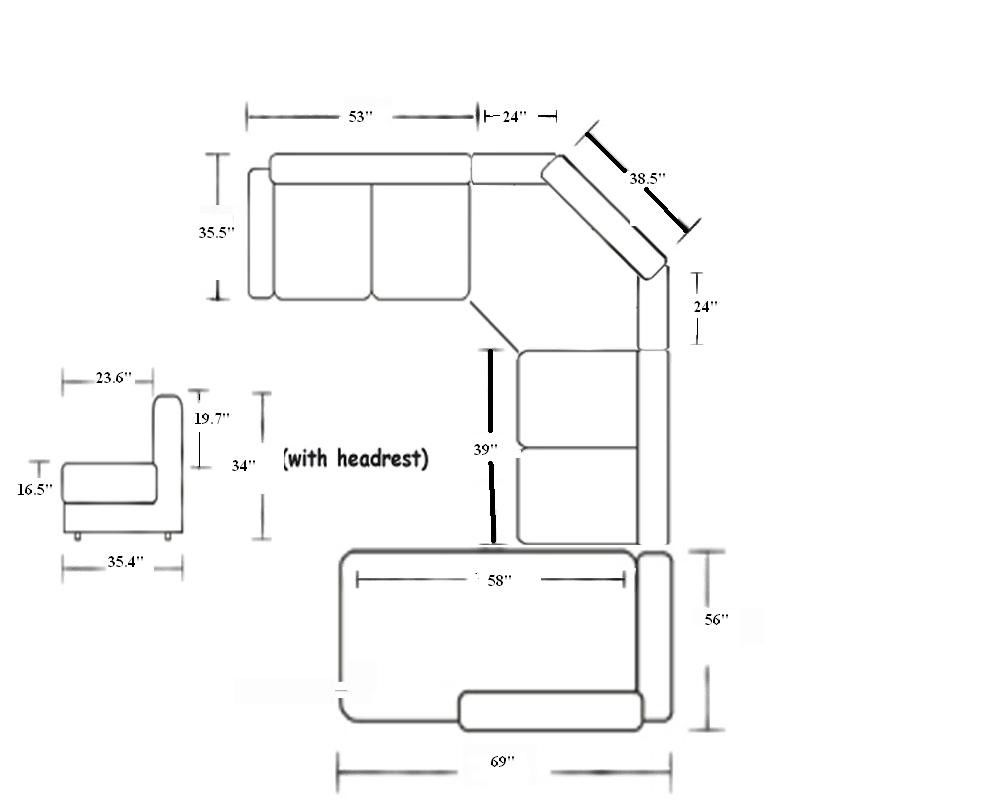 cool sectional sofa sizes ideas-Fascinating Sectional sofa Sizes Plan