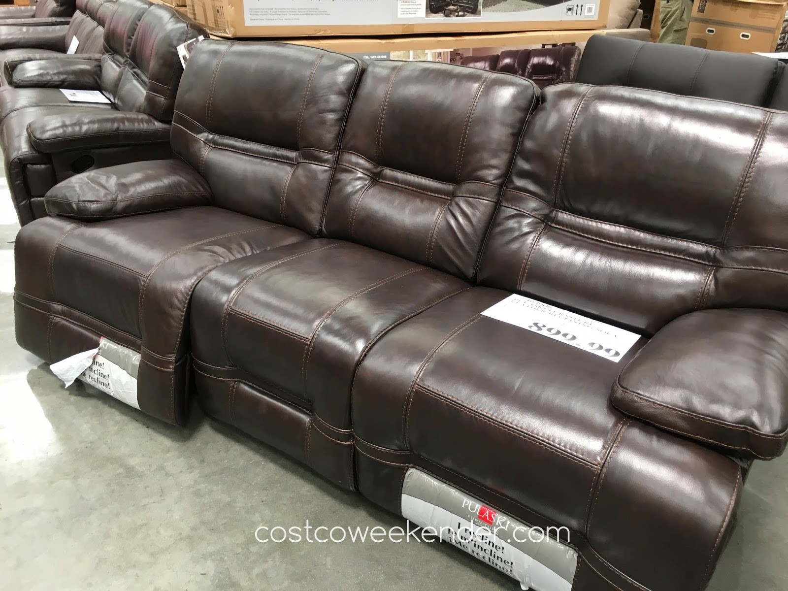 Costco Recliner sofa Best Of Costco Home Furniture Pulaski Leather Power Reclining sofa Costco Inspiration