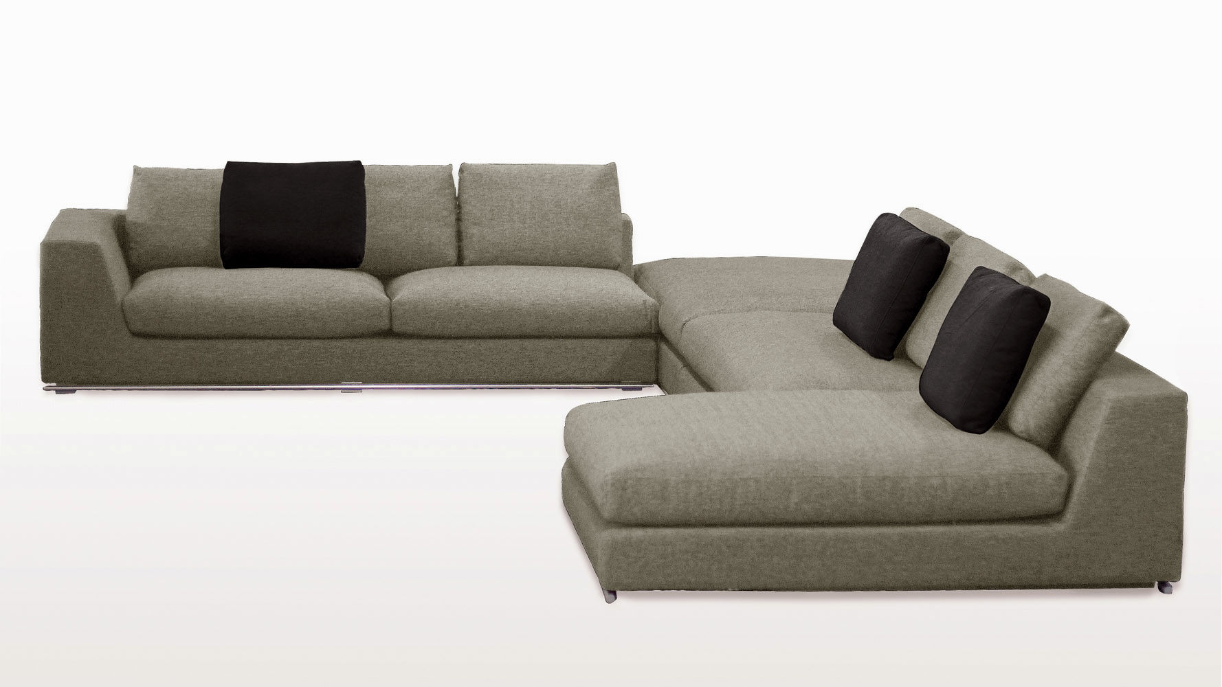 cute grey microfiber sectional sofa ideas-Inspirational Grey Microfiber Sectional sofa Picture