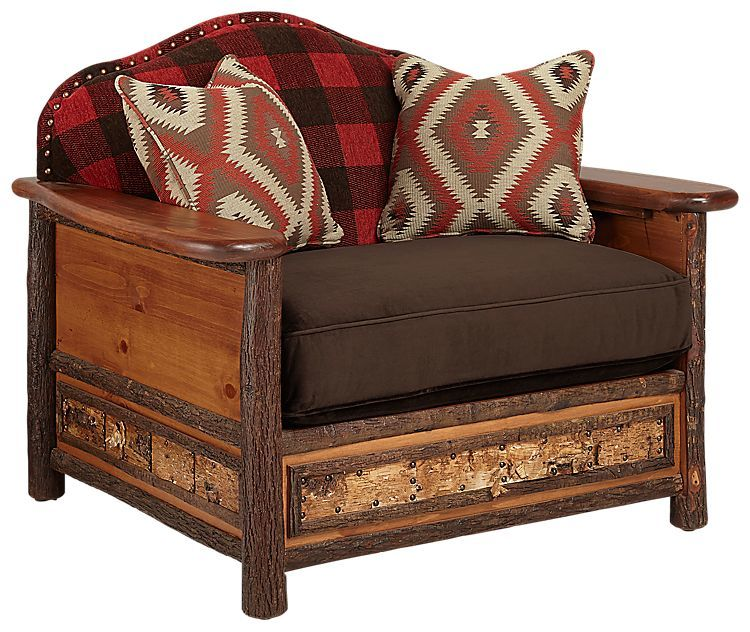 cute hickory chair sofa image-Awesome Hickory Chair sofa Collection