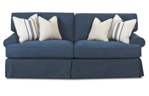 Down Cushion sofa Cool sofa with Blend Down Cushions by Klaussner Concept