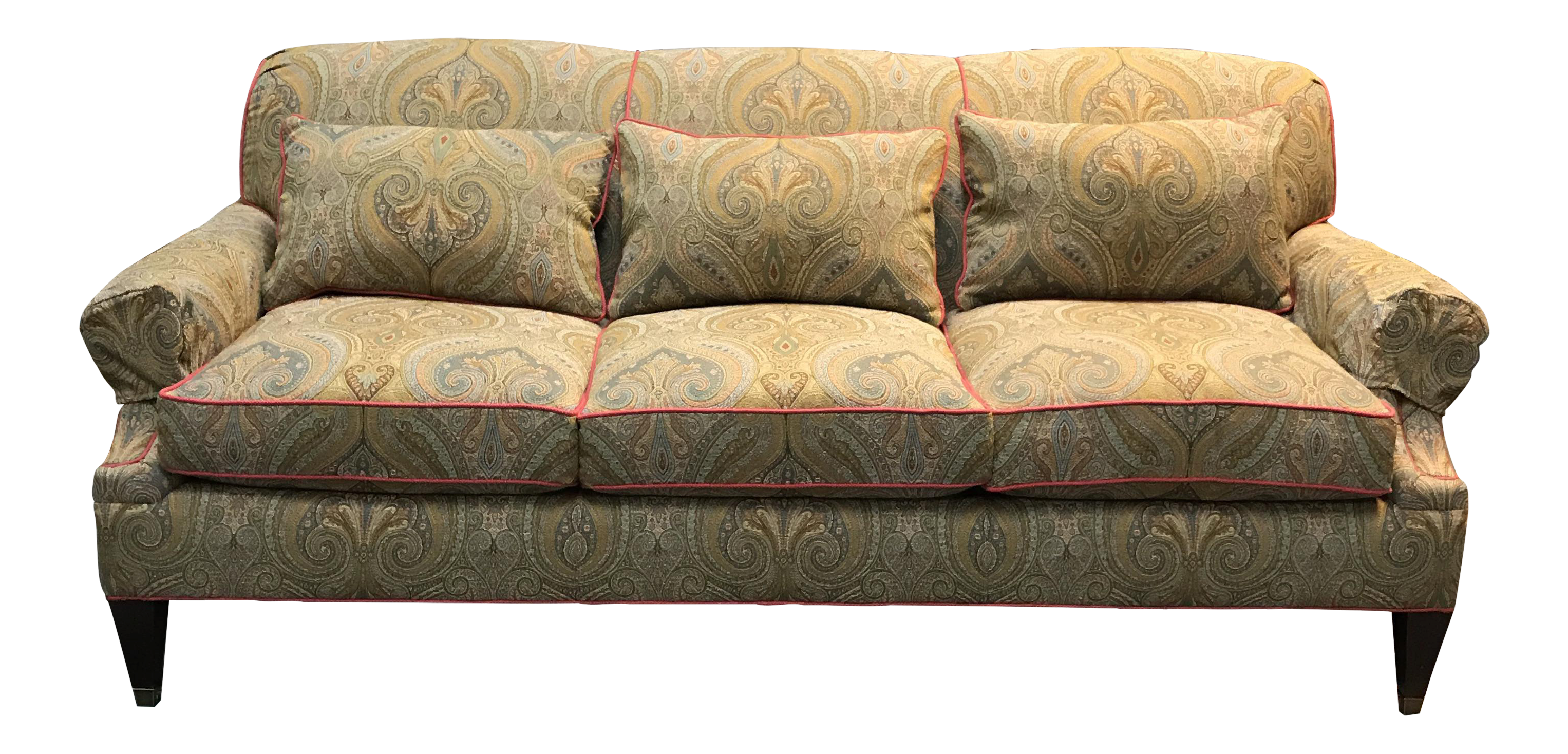 Drexel Heritage sofa Fancy Drexel Heritage Paisley Couch Pattern