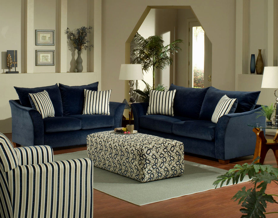 elegant blue sofa set décor-Awesome Blue sofa Set Gallery