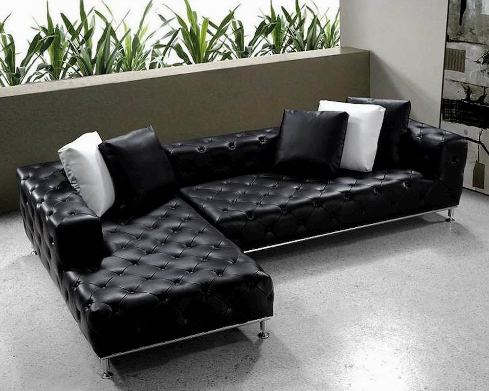 elegant sectional leather sofa ideas-Stylish Sectional Leather sofa Image