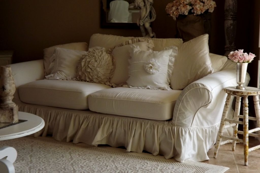 elegant shabby chic slipcovers for sofas décor-Cute Shabby Chic Slipcovers for sofas Layout