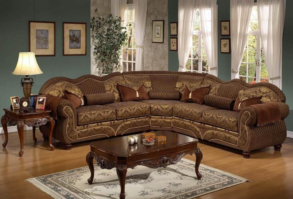 elegant traditional sectional sofas portrait-Modern Traditional Sectional sofas Image