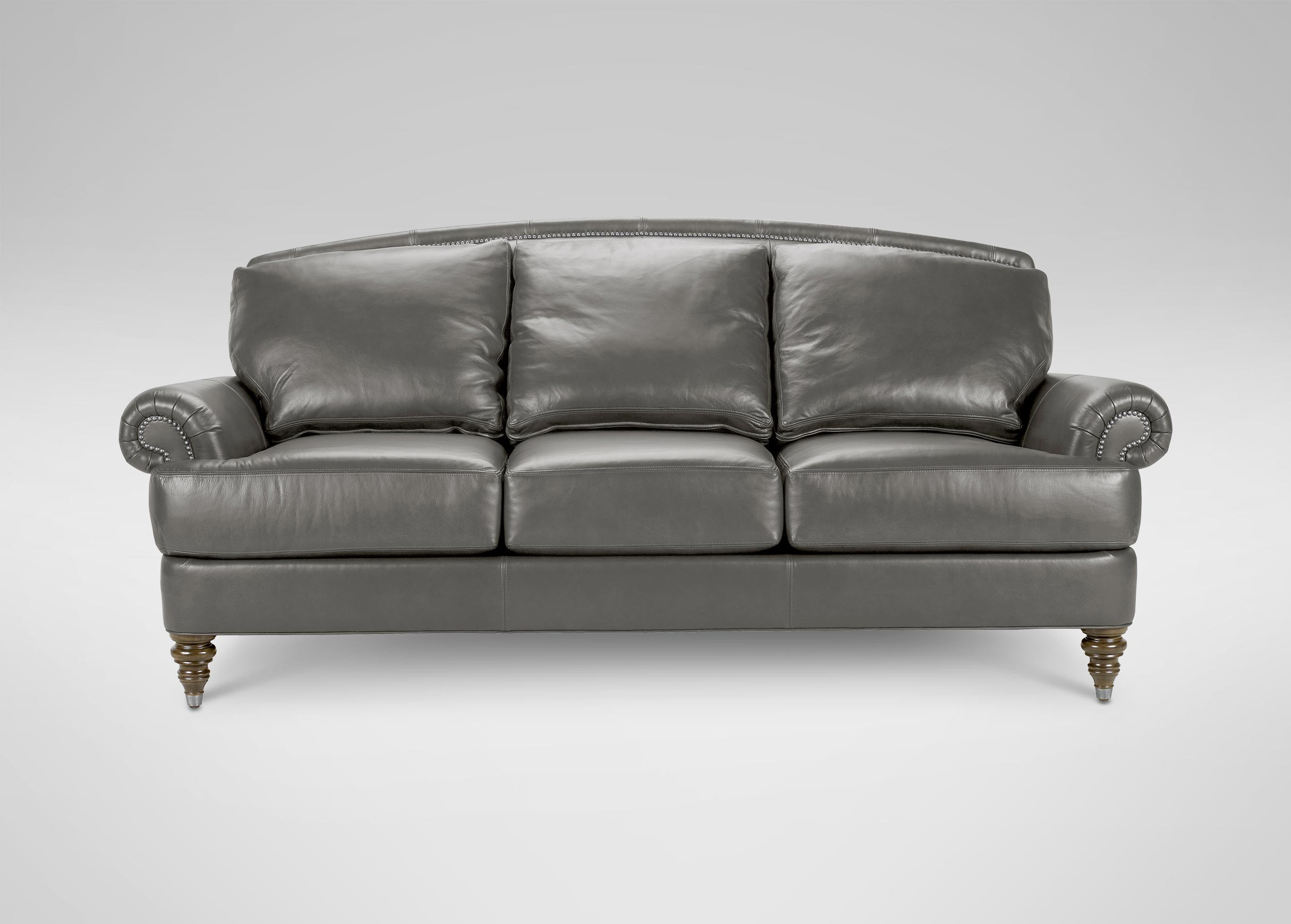 Ethan Allen Leather sofa top sofas and Loveseats Design