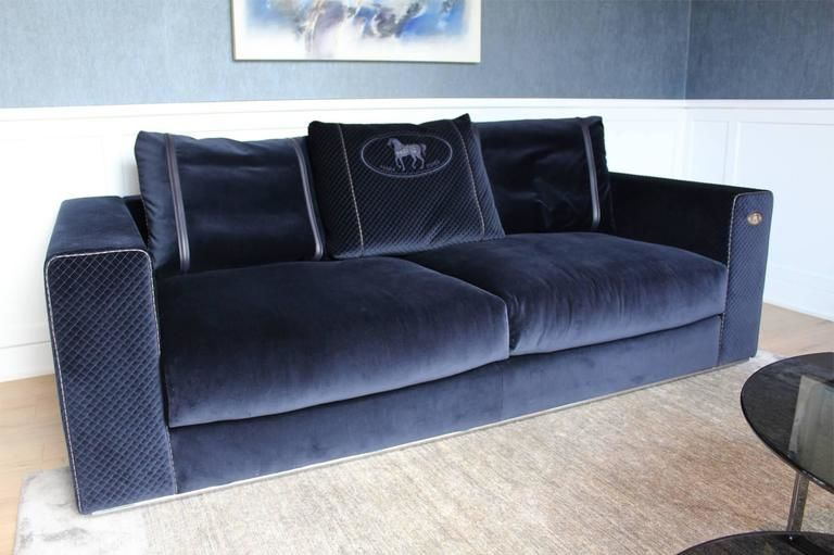 excellent blue sofa sectional model-Cool Blue sofa Sectional Image