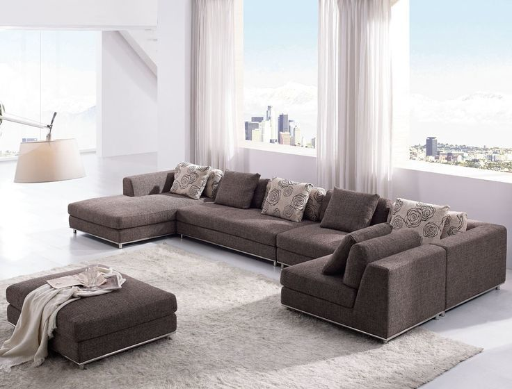 excellent contemporary sectional sofa image-Modern Contemporary Sectional sofa Layout