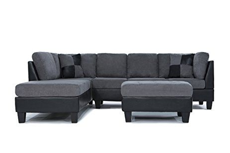 excellent grey leather sectional sofa portrait-Best Grey Leather Sectional sofa Collection