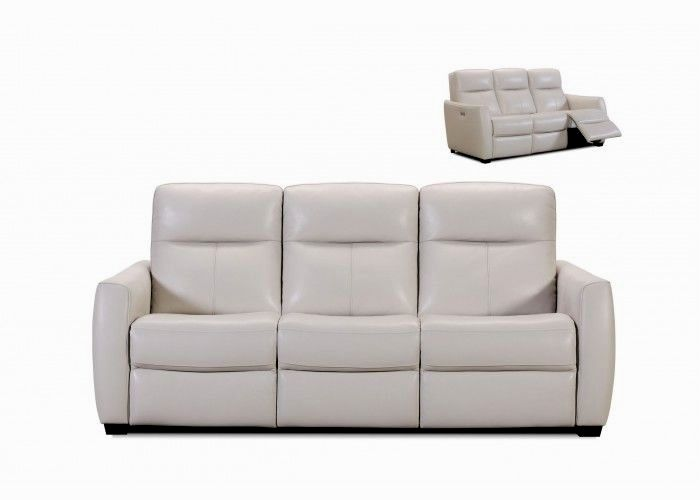 excellent leather power reclining sofa photo-Beautiful Leather Power Reclining sofa Layout