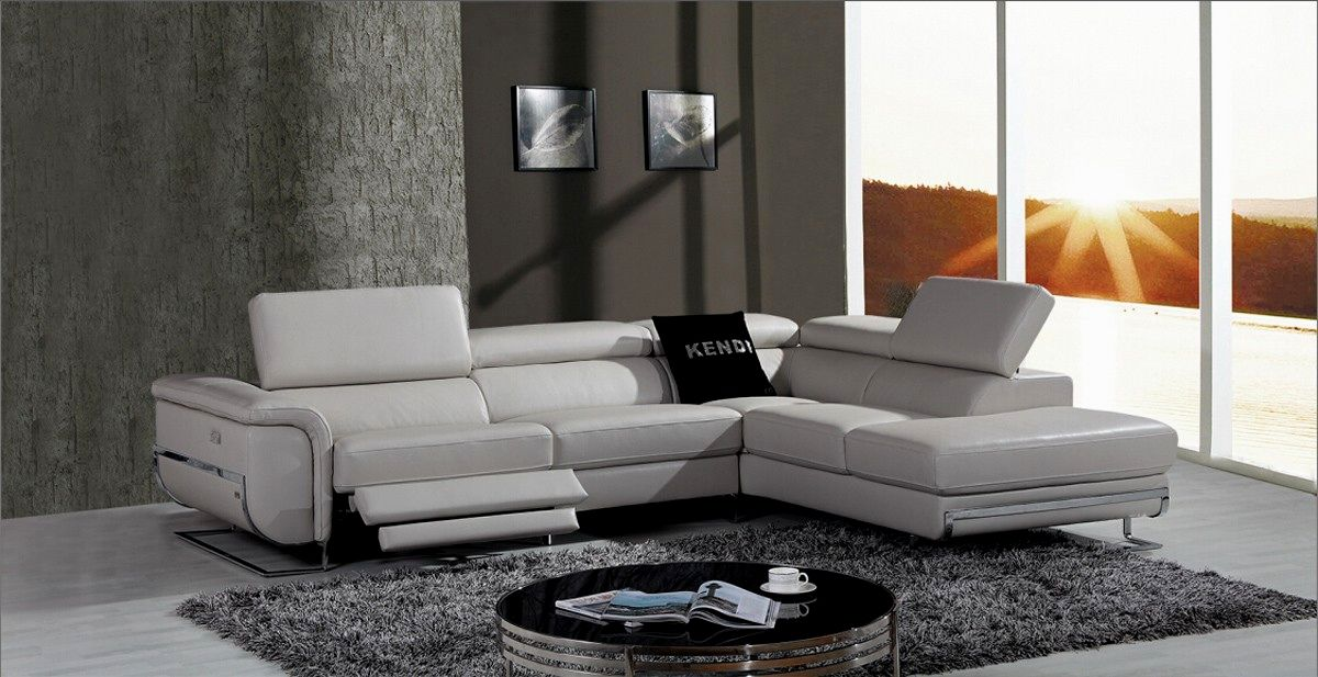 excellent modern gray leather sofa photograph-Superb Modern Gray Leather sofa Portrait