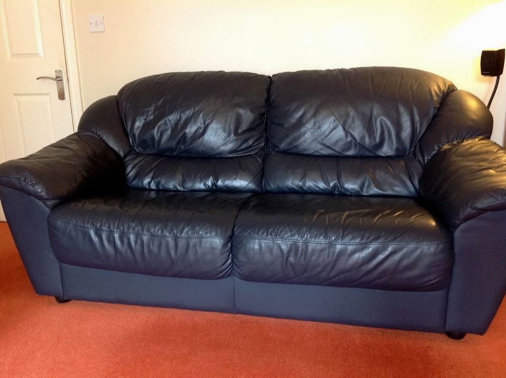 Excellent Used Leather Sofa Photo Cool Image