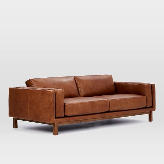 excellent west elm leather sofa photograph-Cute West Elm Leather sofa Design