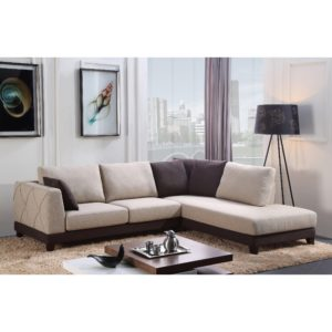 Fabric Sectional sofa Elegant Abbyson Verona Fabric Sectional sofa Free Shipping today Decoration