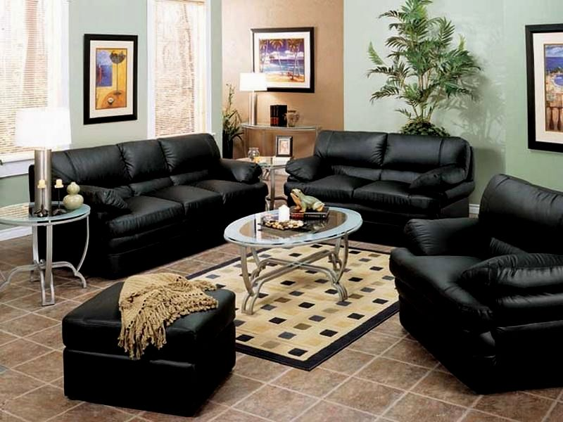 fancy black leather sofas picture-Amazing Black Leather sofas Online