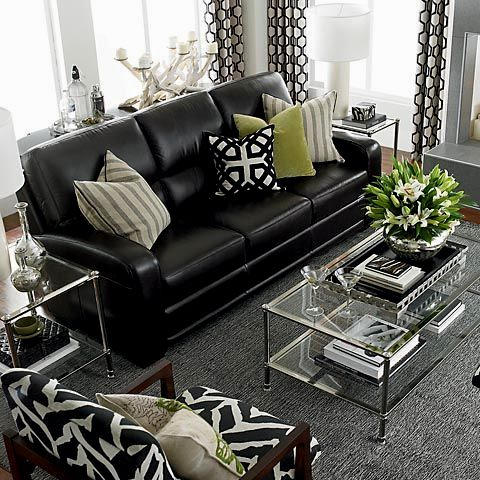 fantastic black leather sofas portrait-Amazing Black Leather sofas Online