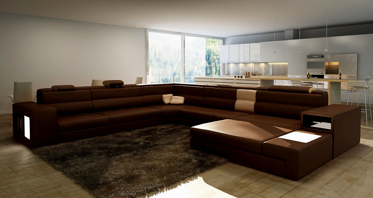 fantastic top grain leather reclining sofa image-Fantastic top Grain Leather Reclining sofa Photograph