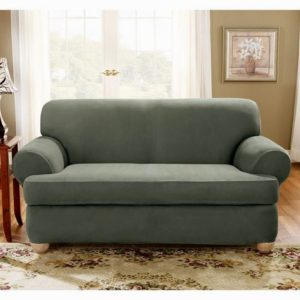 fascinating 2 piece t cushion sofa slipcover layout-Unique 2 Piece T Cushion sofa Slipcover Inspiration