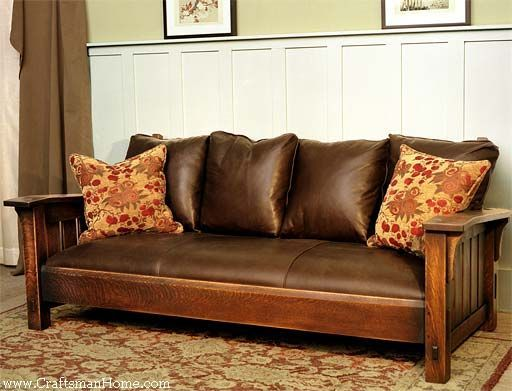 fascinating craftsman style sofa concept-Beautiful Craftsman Style sofa Décor