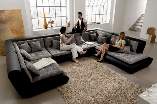 fascinating modern gray leather sofa online-Superb Modern Gray Leather sofa Portrait