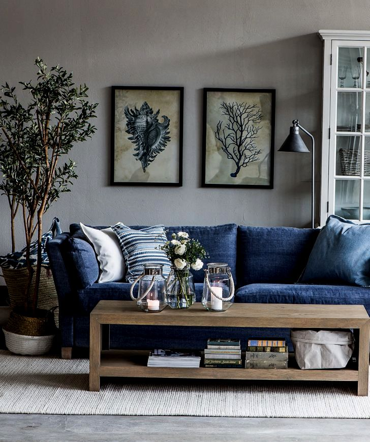 finest navy blue sofa cover architecture-Beautiful Navy Blue sofa Cover Concept