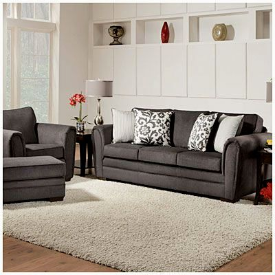 finest simmons flannel charcoal sofa decoration-Beautiful Simmons Flannel Charcoal sofa Concept