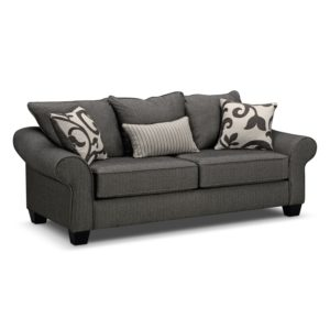 Full sofa Bed Stunning Colette Full Memory Foam Sleeper sofa Gray Gallery