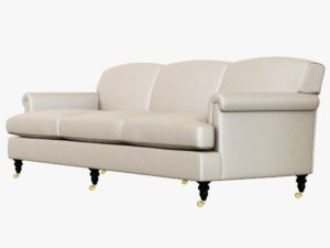 George Smith sofa Unique George Smith Short Scroll Arm Signature sofa 3d Model Max Obj 3ds Photograph