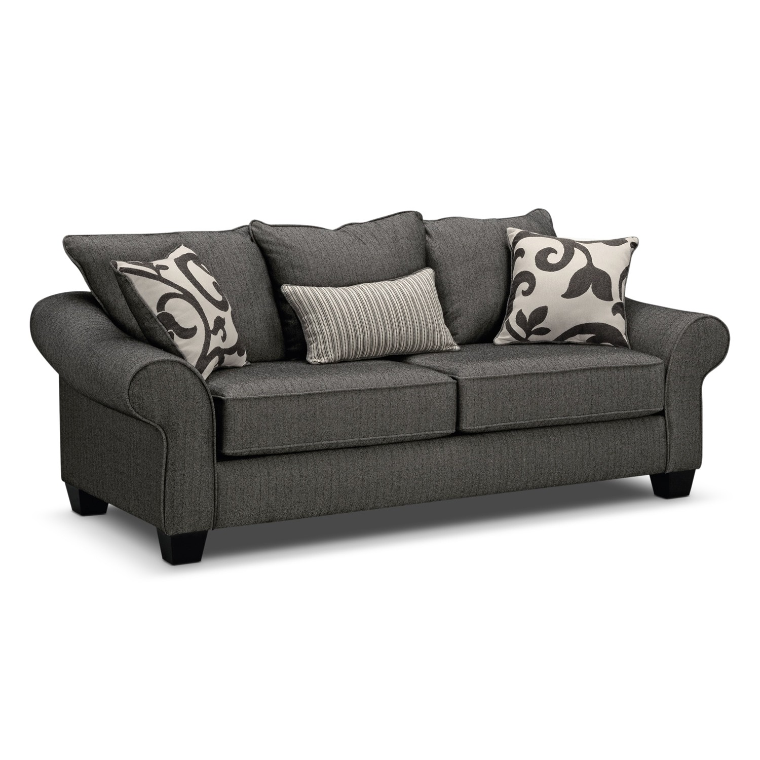 Grey Sleeper sofa Best Of Colette Full Memory Foam Sleeper sofa Gray Gallery