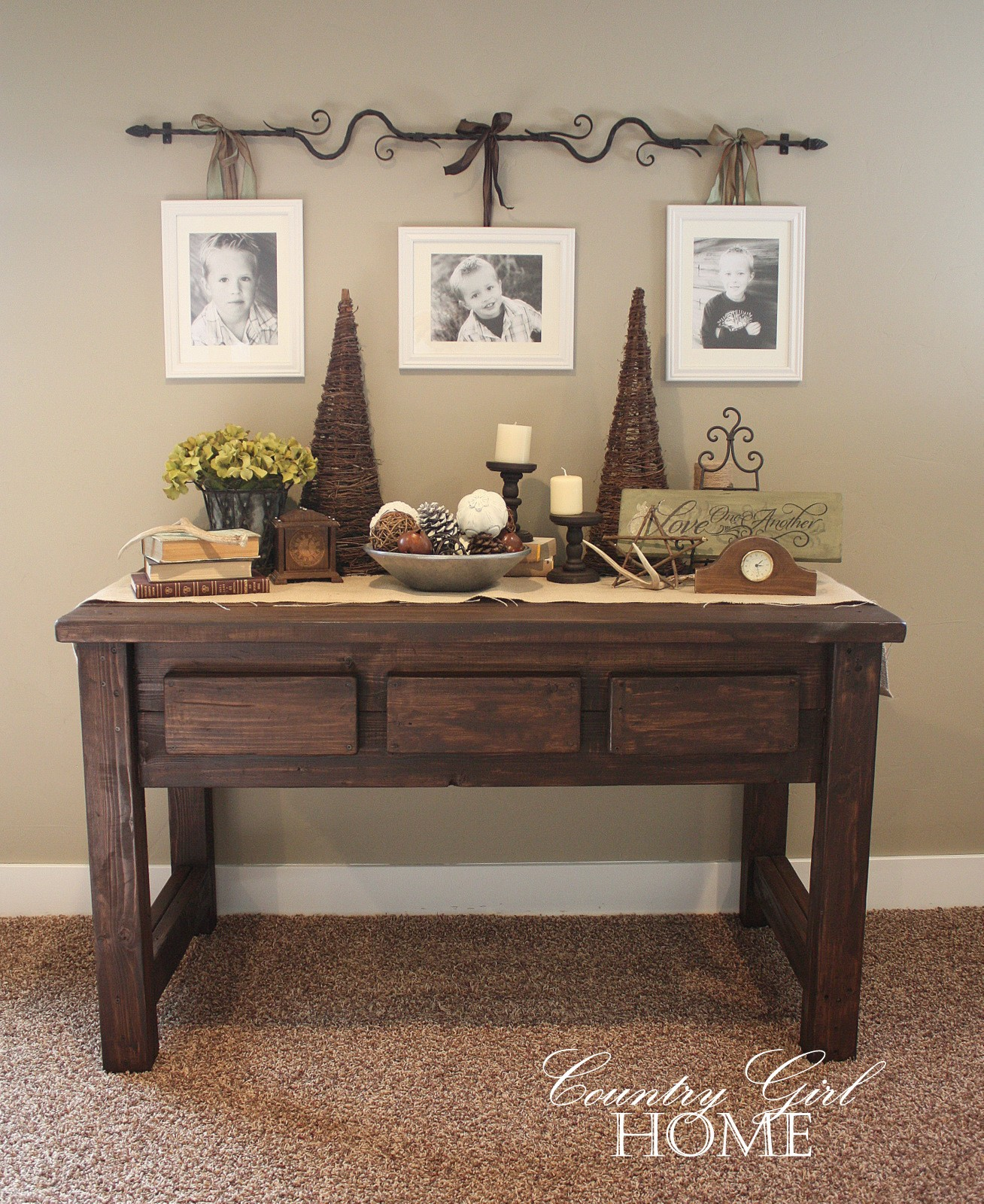 cool how to decorate a sofa table inspiration