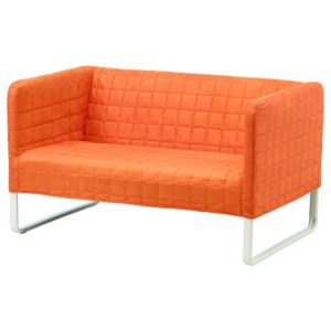 Ikea Small sofa Fresh Knopparp 2 Seat sofa orange Ikea Construction