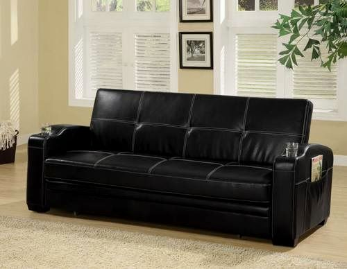 incredible black faux leather sofa plan-Finest Black Faux Leather sofa Picture