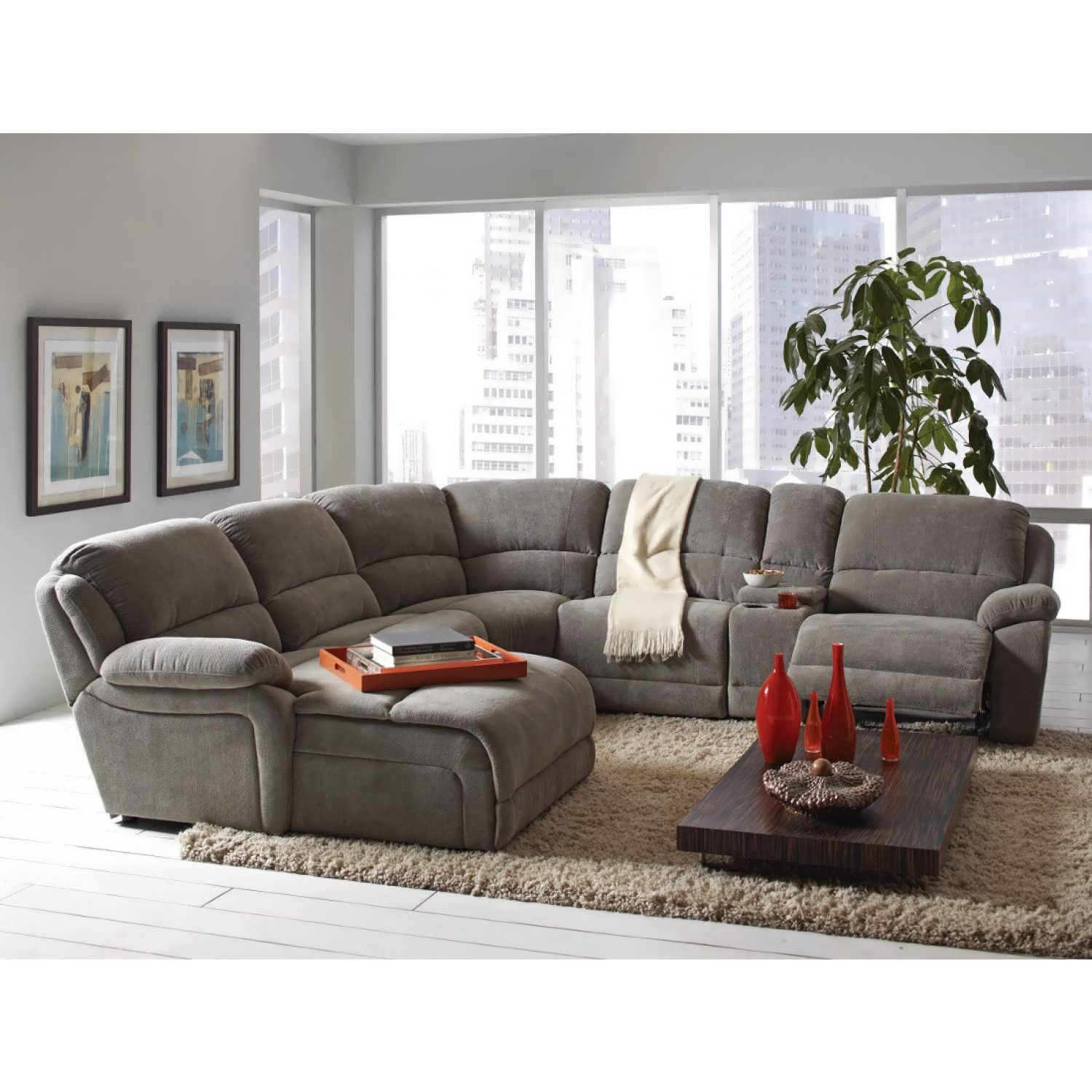 incredible sectional sofas with recliners and cup holders inspiration-Finest Sectional sofas with Recliners and Cup Holders Concept