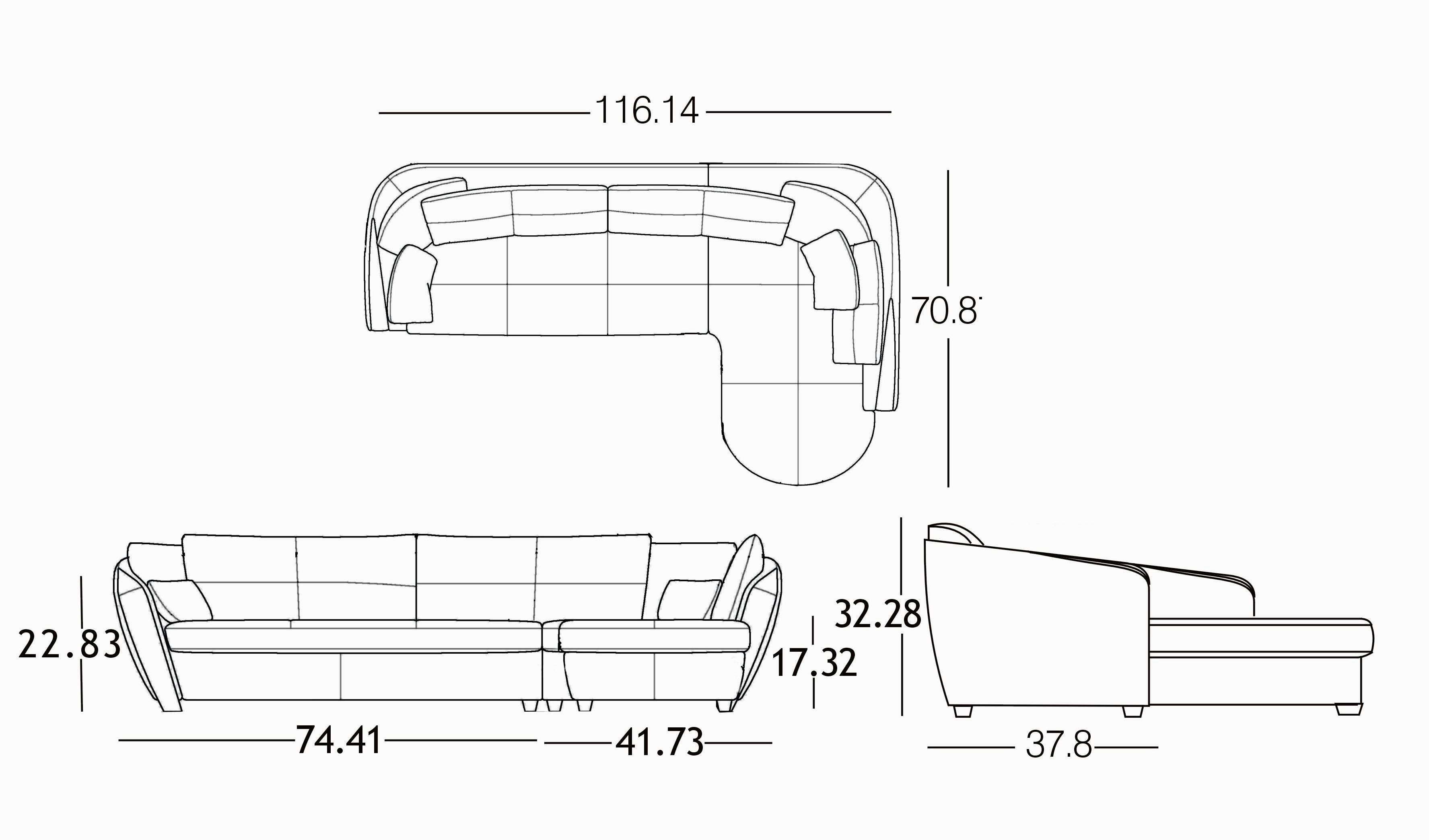 inspirational recliner sectional sofa architecture-Wonderful Recliner Sectional sofa Plan