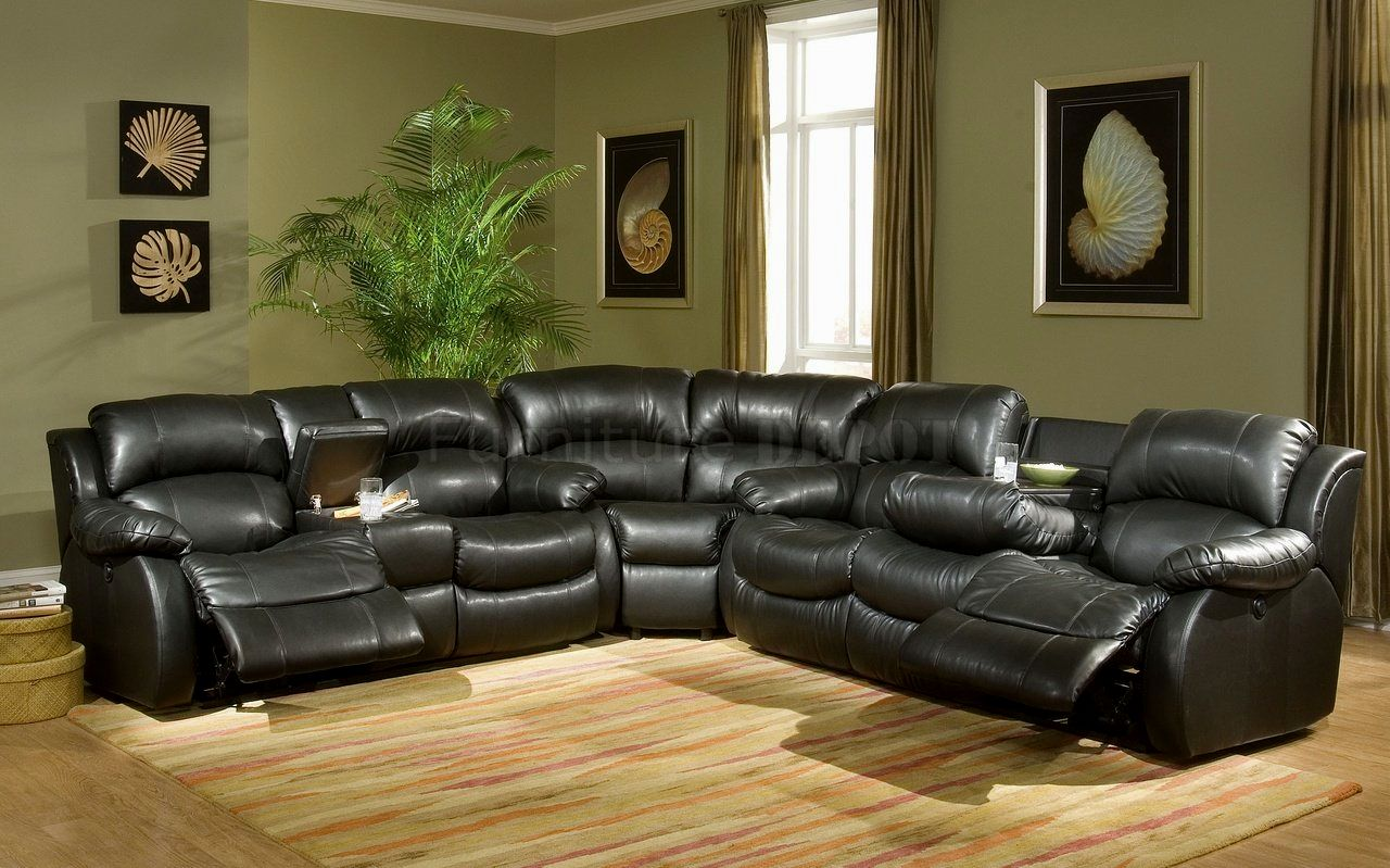 latest black leather sofas design-Amazing Black Leather sofas Online