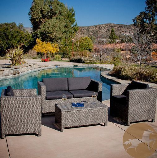 latest christopher knight home puerta grey outdoor wicker sofa set concept-Fancy Christopher Knight Home Puerta Grey Outdoor Wicker sofa Set Plan
