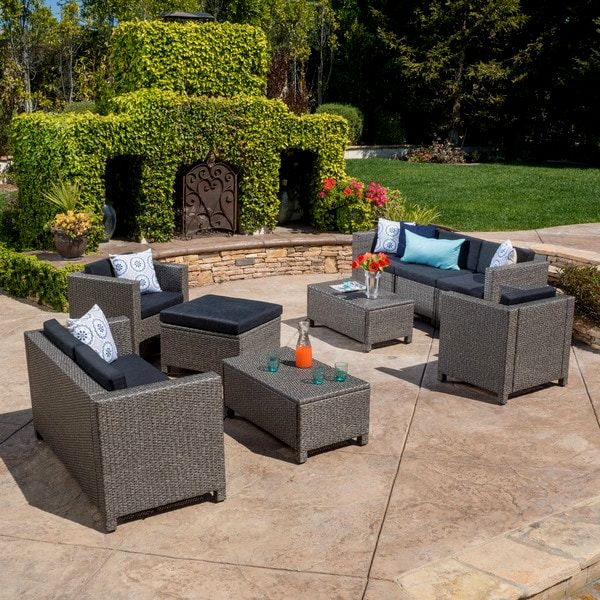 latest christopher knight home puerta grey outdoor wicker sofa set construction-Fancy Christopher Knight Home Puerta Grey Outdoor Wicker sofa Set Plan