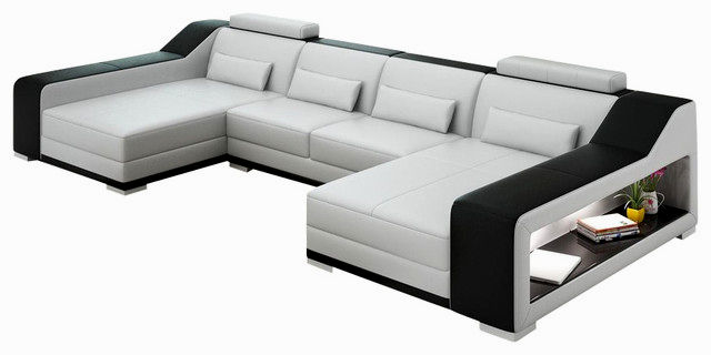 latest leather modular sofa layout-Finest Leather Modular sofa Collection