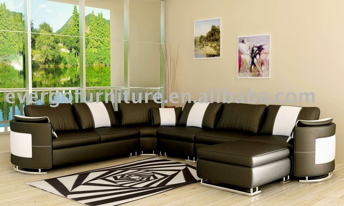 latest real leather sofa set picture-Sensational Real Leather sofa Set Wallpaper
