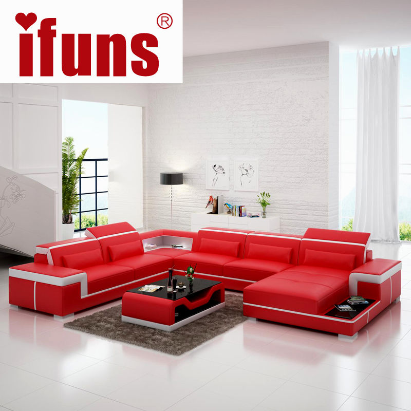 latest red leather sectional sofa online-Fresh Red Leather Sectional sofa Plan