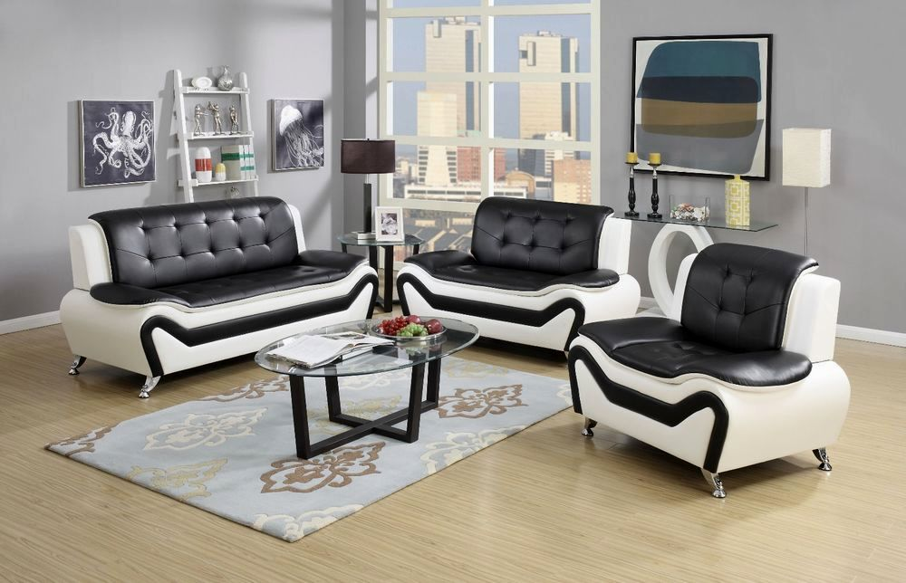 latest white leather sofa set ideas-Fancy White Leather sofa Set Picture